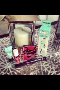 My favourite Benefit cosmetics products!