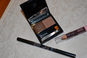 Eyebrow products Chanel brow pencil (left) Benefit Brow Zings (middle) and NYX brow pencil (right)