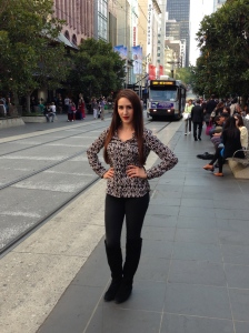 Fashion Friday outfit - Bourke Street Melbourne