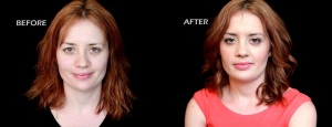 Before and After - Makeup by Dulcelissa